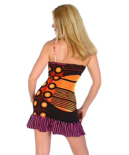 Sommerkleid Strandkleid mit Fotomotiv Gr. 38 Plrz4bgmiv