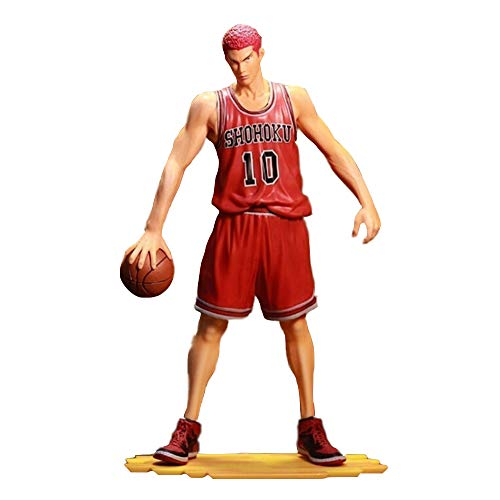 Hot Sale Anime Games Slam Dunk Sakuragi Hanamichi PVC Action Figure Collection Model Toy Doll Birthday Gift