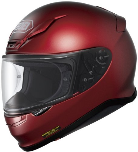 Shoei Rf-1200 Wine Red SIZE:LRG Full Face Motorcycle Helmet