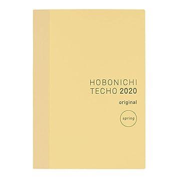 Planner hobonichi TECHO LIBRO Inglese//A6//Jan 2020 Start//Start MON