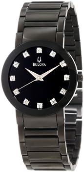 Bulova Black Stainless Steel Bracelet Men's Watch