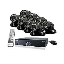 REVO America R165T8G-2T 16 Ch. 2TB 960H DVR Surveillance System with 8 700TVL 100 ft. Night Vision Mini Turret Cameras