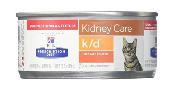 Hills Feline K/D Chicken Can Comida para Gatos - 156 gr ...