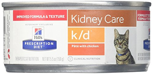 Hill'S Prescription Diet K/D Feline Renal Health - 24X5.5Oz (Best Diet For Cats With Kidney Disease)