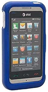 C&E LG Arena GT950 Phone Protector Case with Optional Belt Clip - Non-Retail Packaging - Blue