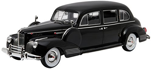 GreenLight The Godfather 1972-1941 Packard Super Eight One-Eighty Vehicle (1:18 Scale), Black