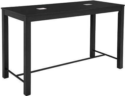Miraculous Amazon Com Zuo Modern 100620 Odin Bar Table Black Modern Machost Co Dining Chair Design Ideas Machostcouk