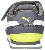 PUMA Baby ST Runner Velcro Sneaker, Castlerock