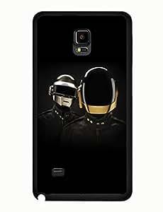 Daft Punk Graphic Superb Series Music DJ Samsung Galaxy Note 4 Anti Scratch Case yiuning's case wangjiang maoyi