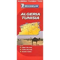 Michelin Map Algeria and Tunisia