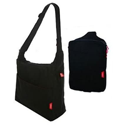 complete with change mat and mini diddie phil/&teds Diddie Bag Black