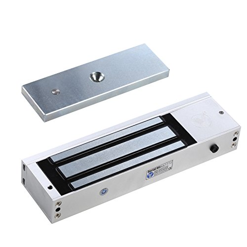 UHPPOTE 500Kg 1200Lbs Holding Force Single Door Electric Magnetic Lock Fail Safe Mode by UHPPOTE