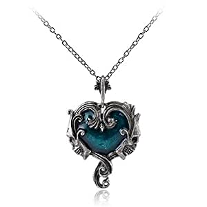 Skull Red Peach Heart Pendant Necklace Black Drop Tear Crystal Necklaces Women Gothic Choker Male Necklace