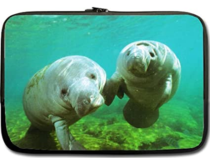 229ecb8346ce Amazon.com: High Quality Manatee Water Resistant Neoprene Laptop ...