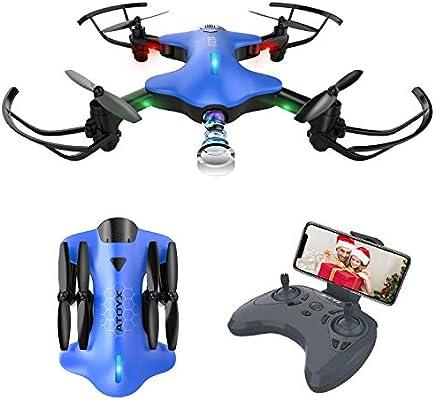 ATOYX AT-146 Drone con Cámara, Drone Plegable con App WiFi FPV 720 ...