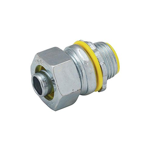 (1/2 in. Malleable Iron liquid tight Conduit Insulated Straight Connector)