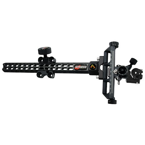 Axcel Archery Sights Achieve Carbon Bar XL Right Hand Compound Sight Extension, Black, 9-Inch