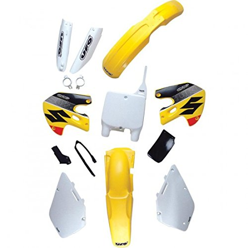 su02959101 /UFO 1234530/ /su02959101/ Side Panels Suzuki RM125/Hammer//250/rm-yellow/