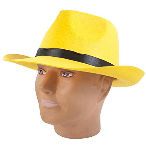 Yellow Hat for Dick Tracy (Dick Tracy Fancy Dress)