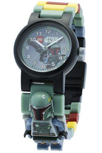 Mini Bracelet Watch (LEGO Star Wars Boba Fett Minifigure Link Watch)