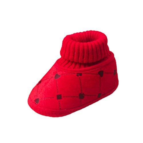 wuayi , Baby Mädchen Lauflernschuhe Grün khaki Rot