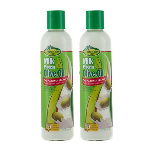 Sofn'Free Milk Protein & Olive Oil Daily Growth Lotion (8 Oz) Pk Of ()