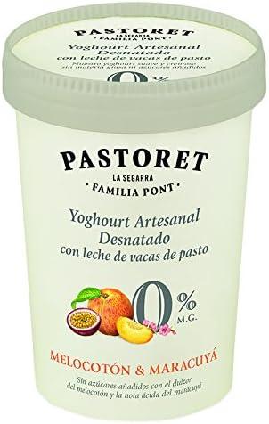 Pastoret - Yogur Artesanal Desnatado Melocotón y Maracuyá, 1 ...