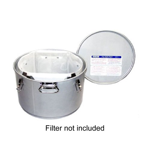 Miroil 60L/02060 55 Lb. Grease Bucket / Filter Pot With Lid by Miroil Filter (Image #1)