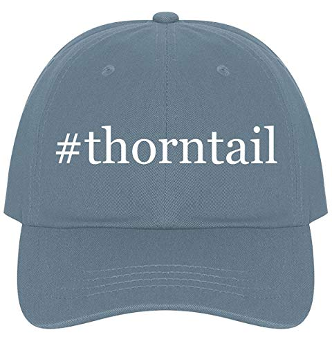 The Town Butler #Thorntail - A Nice Comfortable Adjustable Hashtag Dad Hat Cap, Light Blue
