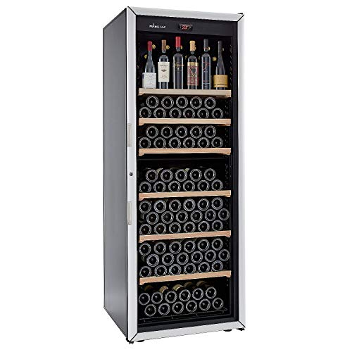 FranceCave by EuroCave - 213 Bottle Free-Standing Single-Zone Wine Cellar, Designed and Manufactured in France by EuroCave - Inventor of the Wine Cabinet