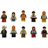 LEGO Lot of 10 Minifigures - Random mix of people guys girl