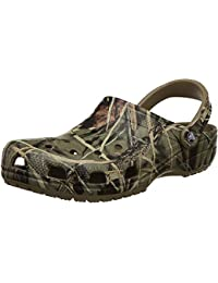 Men's and Women's Classic Realtree Clog | Camo Crocs for Men and Women