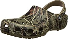 Crocs Classic Realtree Clog, Khaki, 4 M US Men's/6 M US Women's