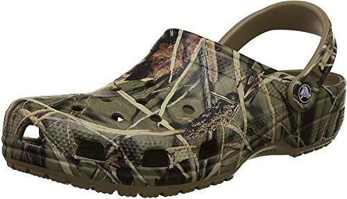 Crocs Classic Realtree Clog, Khaki, 10 M US Men's/12 M US Women's from Crocs