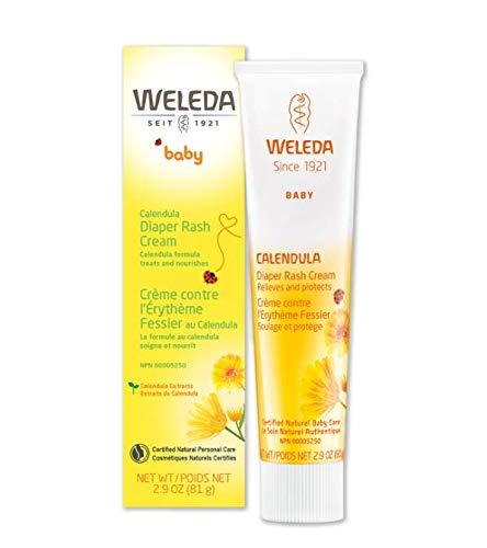 (Weleda Calendula Diaper Rash Cream, 2.9 Ounce (2)
