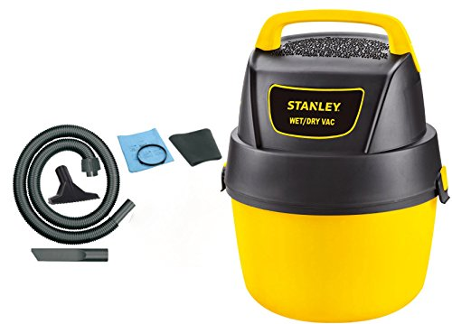 Stanley Wet/Dry Vacuum, 1 Gallon, 1.5 Horsepower (Vac Shop Gallon 1)