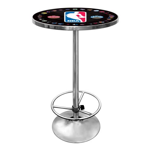 NBA Chrome Pub Table by Trademark Gameroom