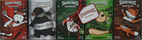 (Swiss Miss Hot Cocoa Gift Pack (5 Flavors, 4 Envelopes Each, Total of 20 Servings))