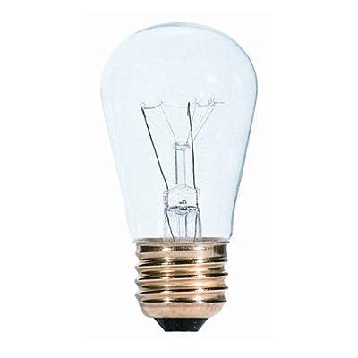 Bulbrite 701111 - 11S14C - 11 Watt S14 Clear Sign Bulb - 20 Pack