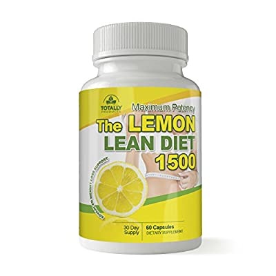 The Lemon Lean Diet - Maximum Potency 1500mg Advanced Weight Loss Support Capsules (60 Count).