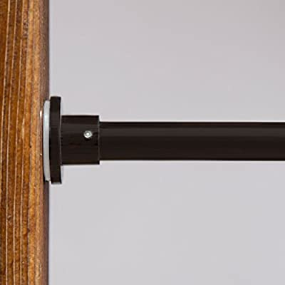 RoomDividersNow Premium Tension Curtain Rods, from 28in-150in