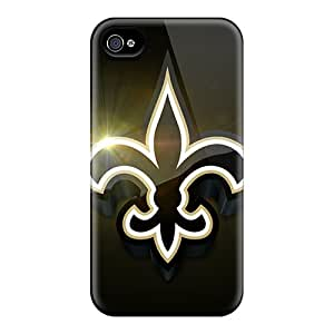 Special Aimeilimobile99 Skin Cases Covers For Iphone 4/4s, Popular New Orleans Saints Phone Cases
