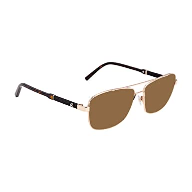 0d462a9faf0 Image Unavailable. Image not available for. Color  Montblanc MB589S  Sunglasses ...
