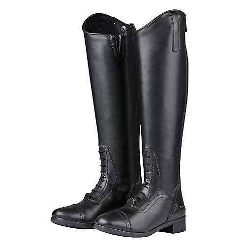 Saxon Womens/Ladies Syntovia Tall Field Boots (7.5 US Regular Regular) (Black)
