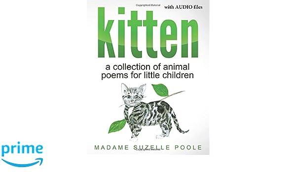 Amazon com: kitten: poems for little children, including