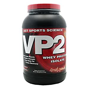 AST Sports Science VP2 Whey Protein Isolate - Fruit Punch, 2 lbs (908 g)