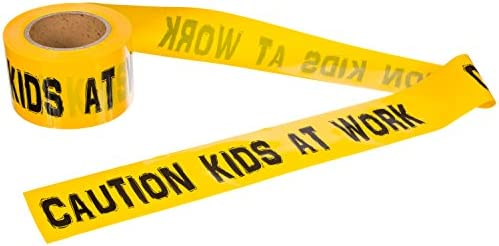 Caution Kids Work Barricade TorxGear product image