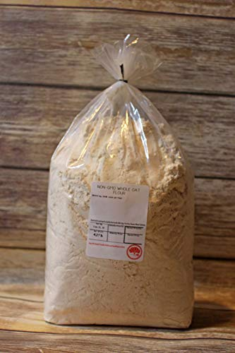 - Kauffman's Fruit Farm Bulk Whole Oat Flour For Baking, 4.5 Lb. Bag