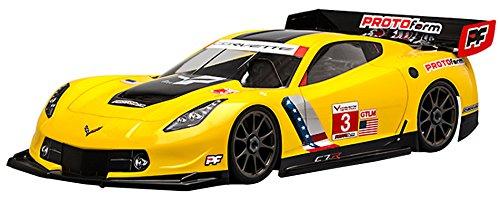 - Kyosho Corvette C7.R Body (GT2 / WB360mm / 1546-40) Parts for RC 612061B