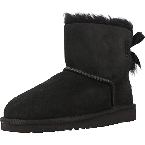 UGG Australia Mini Bailey Bow, Mocasines para Bebés Black